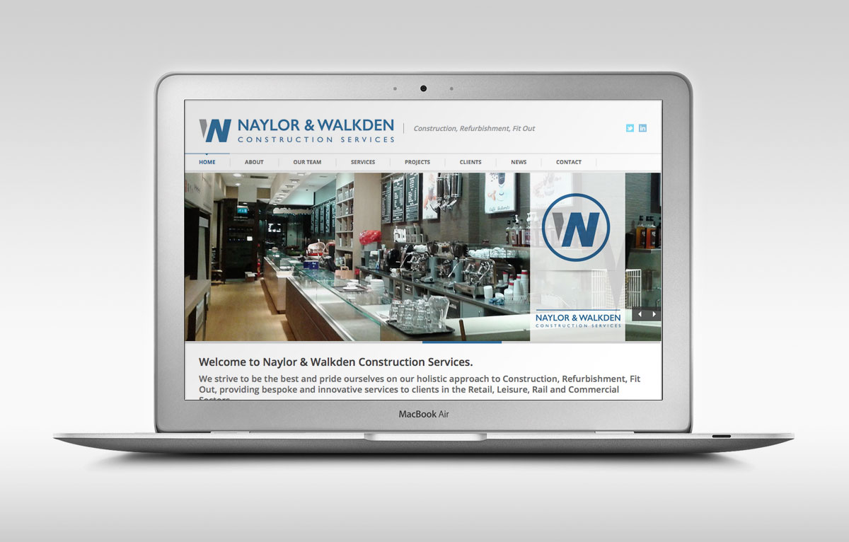 Naylor & Walkden Website