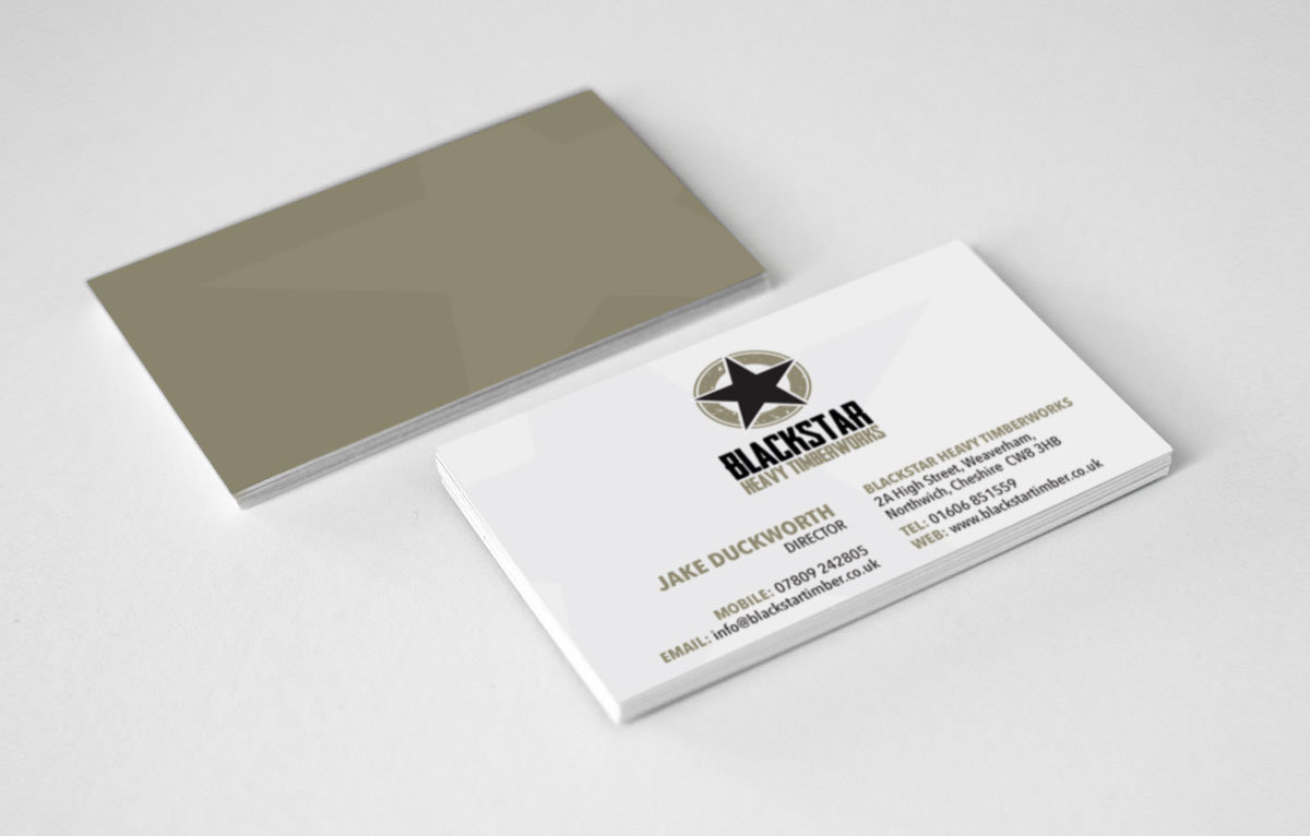 Blackstar Timber Business Card