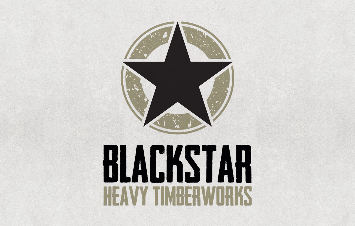 Blackstar Timber Logo Design