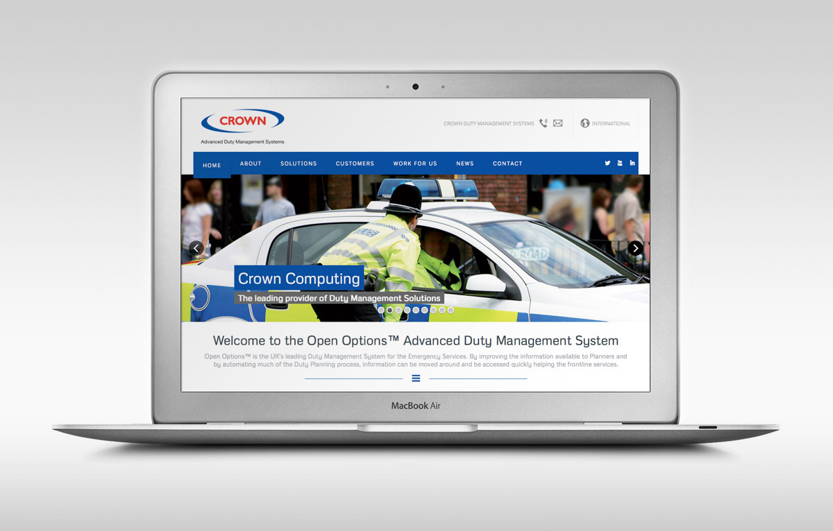Crown Duty Management Website