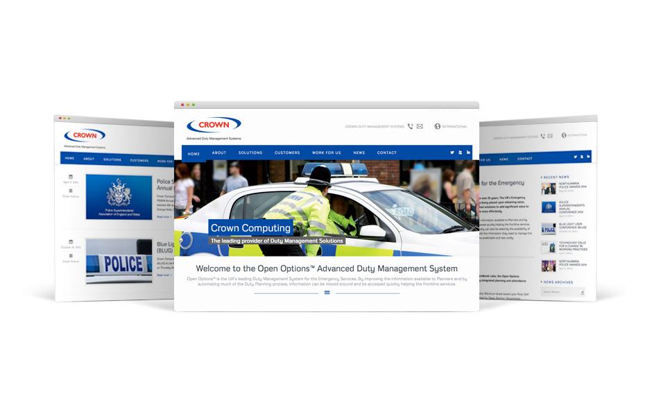 Crown Duty Management Website