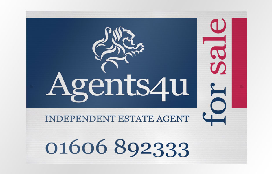 Agents4u Estate Agent Branding