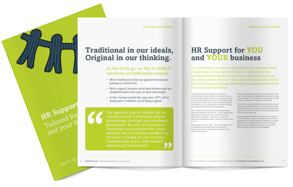 Davis Blank Furniss HR Brochure