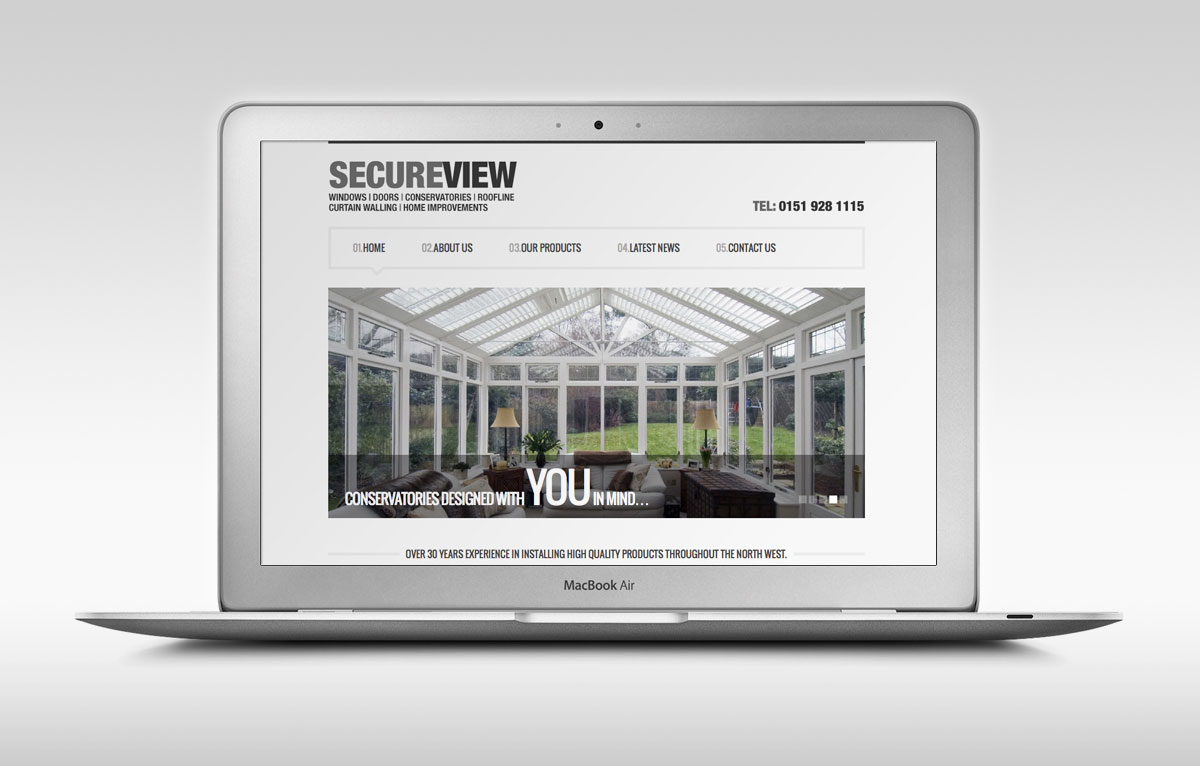 SecureView Windows Website