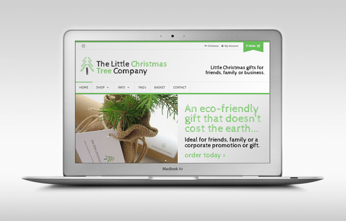 Little Christmas Tree Company Website