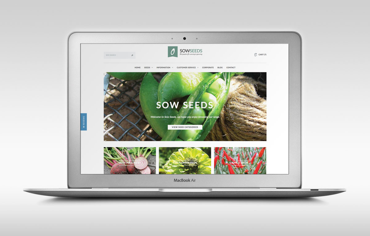 Sow Seeds eCommerce Website