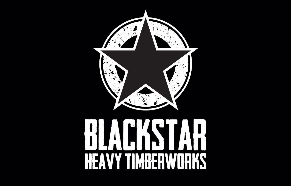 Blackstar Timber Reverse Logo