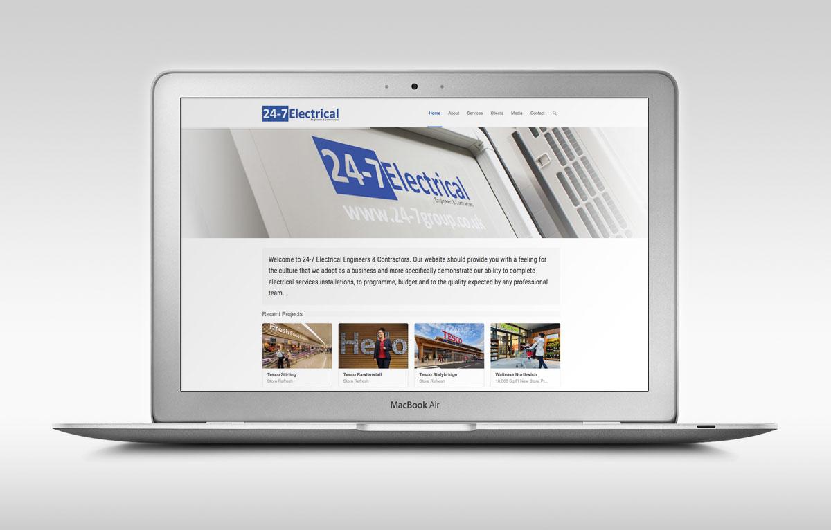 24-7 Electrical Website