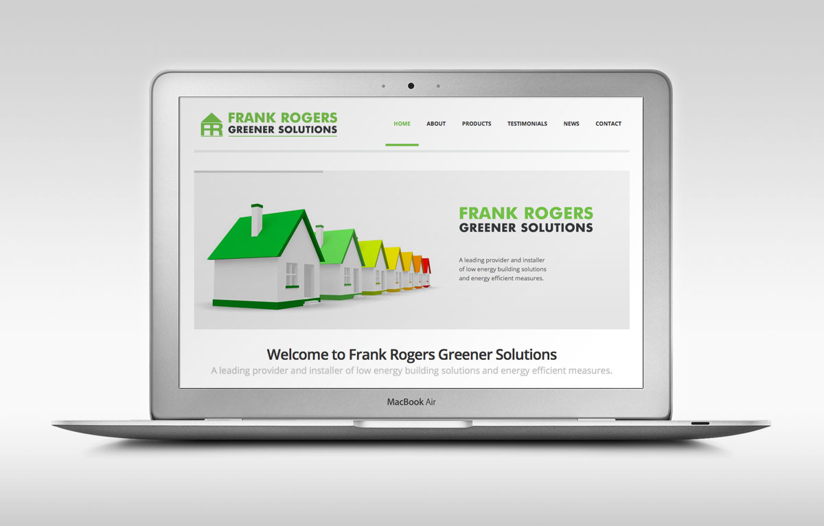 Frank Rogers Greener Solutions Website