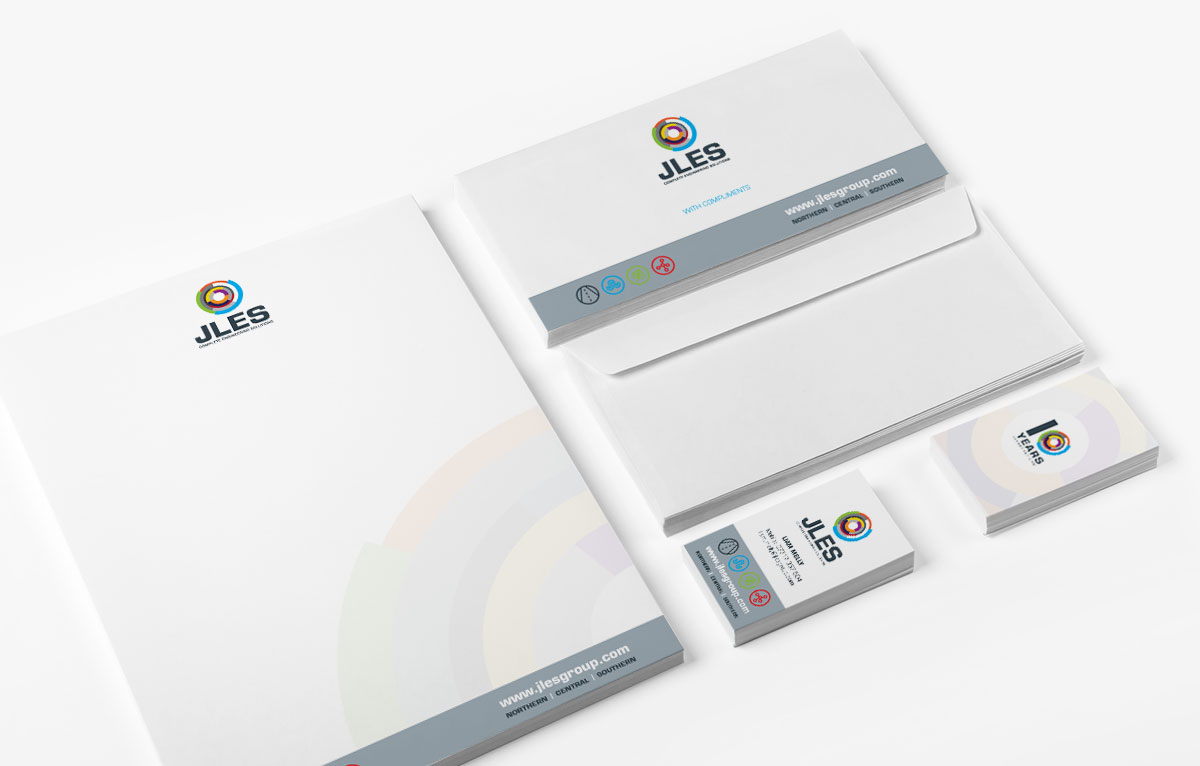 JLES Group Stationery