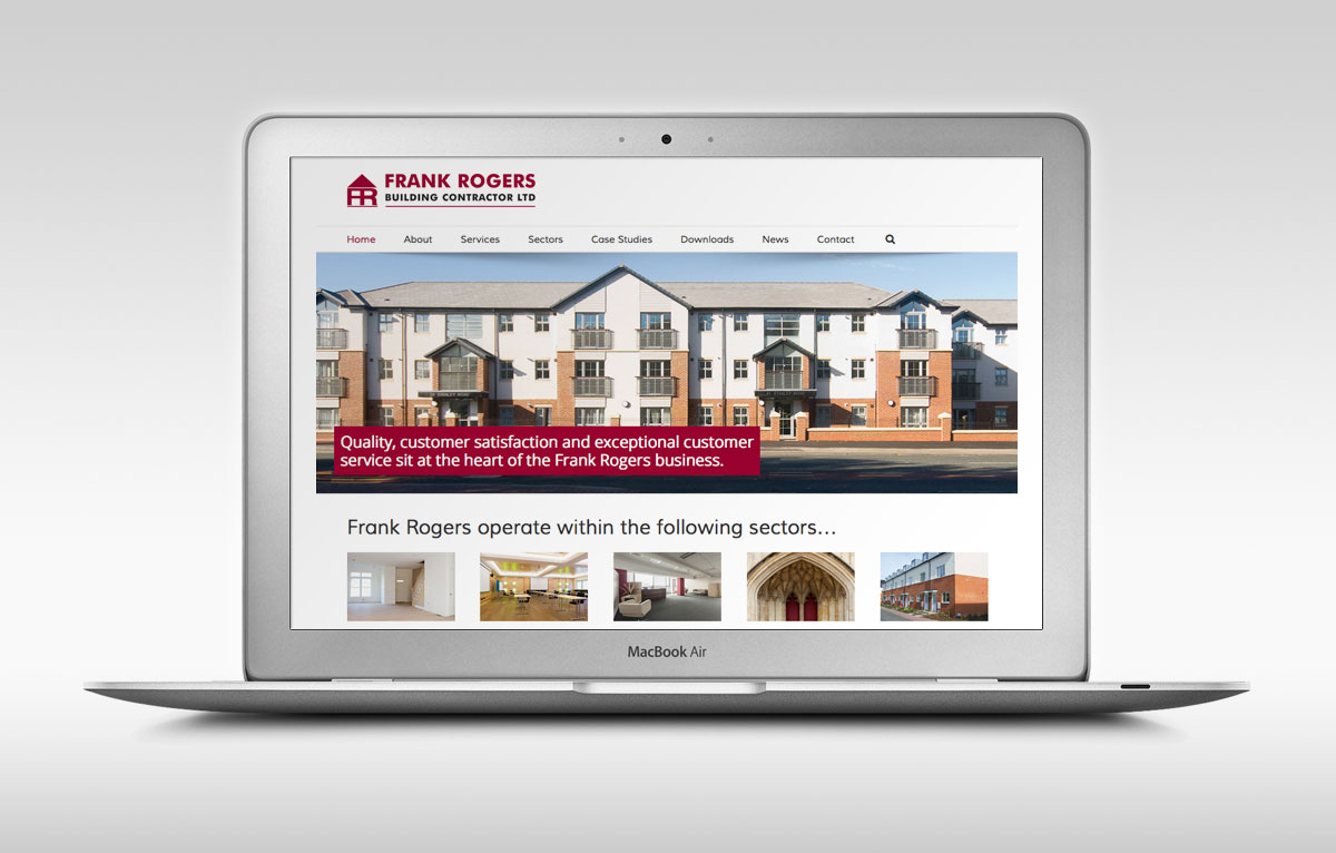 Frank Rogers Developments Website