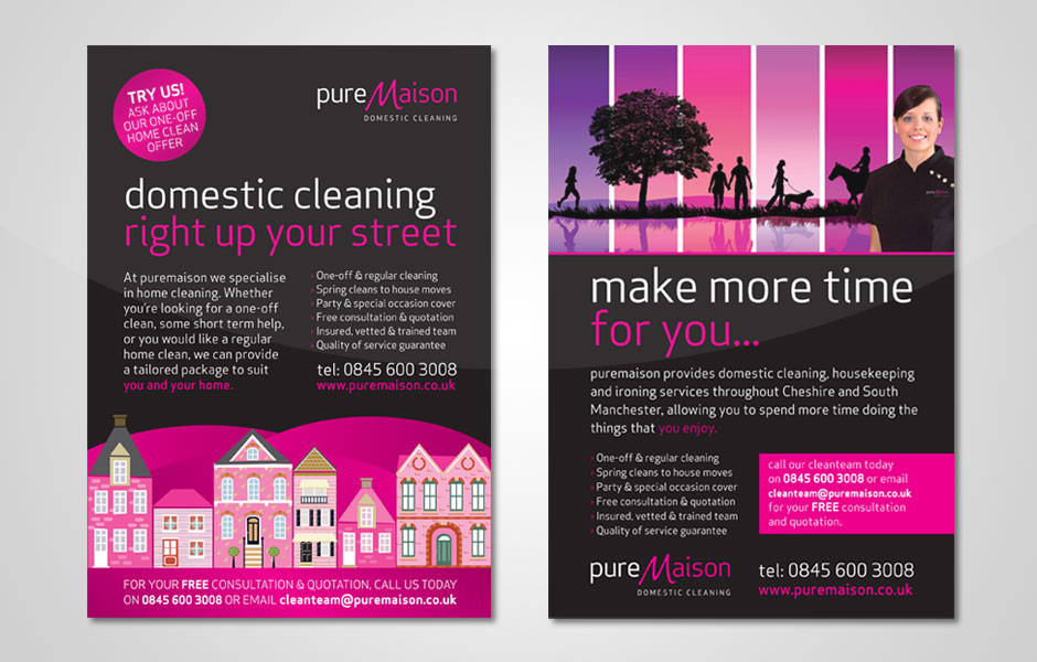 Division Design Puremaison Domestic Cleaning