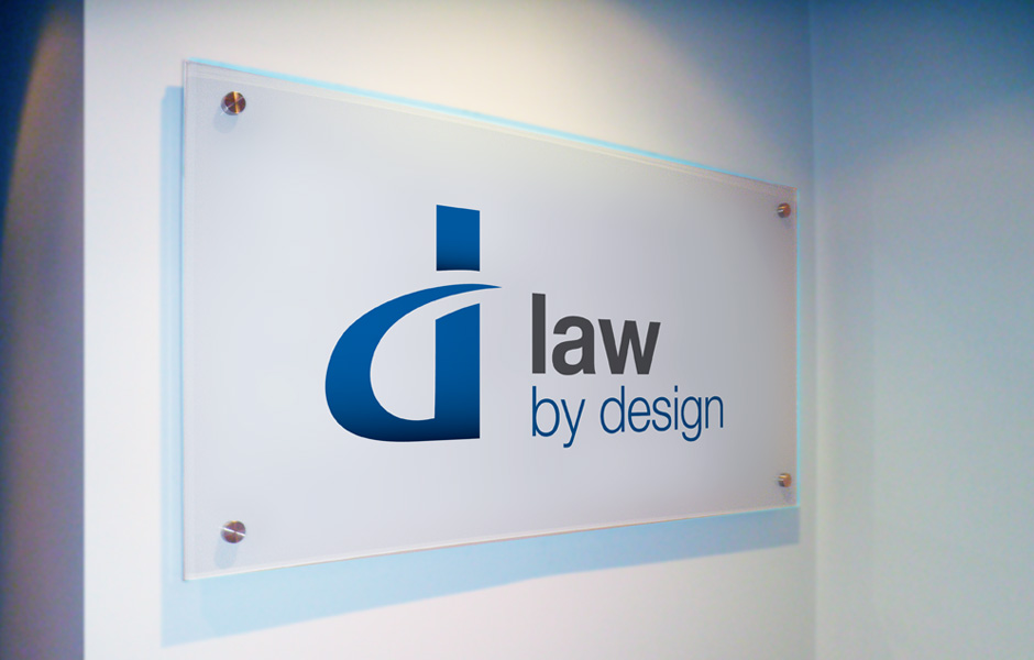Law By Design Internal Signage