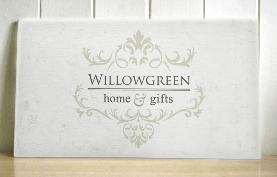 Willowgreen Home & Gifts Logo Design