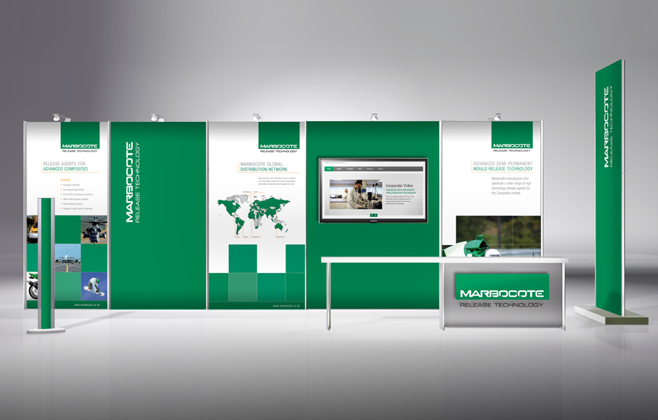 Marbocote Exhibition System