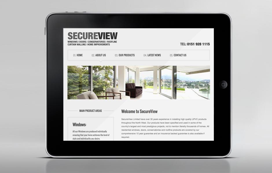 SecureView Windows Website